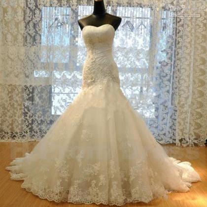 Wedding Dress Bride Dress White Bri..